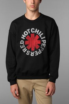 Red Hot Chili Peppers Asterisk Crew Sweatshirt  #UrbanOutfitters
