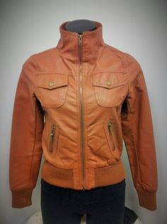 brand new, faux leather jacket by Seduction (small)