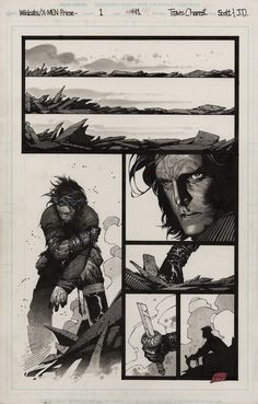 Wolverine in Wildcats/X-Men by Travis CHAREST
