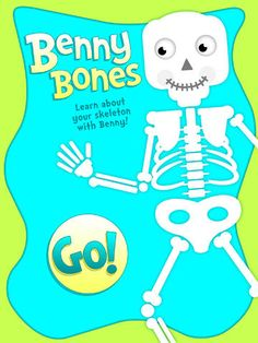 Benny Bones is a fun, introductory app to the skeletal system and will teach children the names and locations of 17 bones in the body. Simpl...