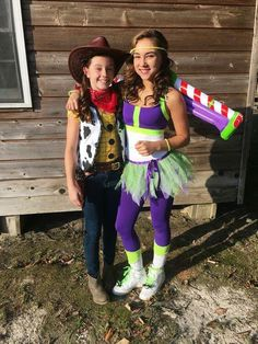 Woody & Buzz Lightyear (F&F Costume) #ToyStory