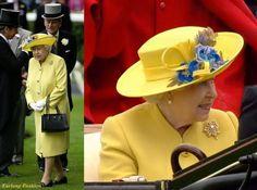 Hm The Queen  2016 Royal Ascot Fashion