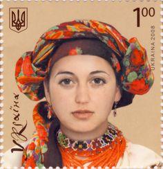 Ukrainian headwear stamp.