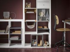 Ikea KALLAX storage system for study