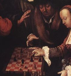 Image result for lucas van leyden chess players
