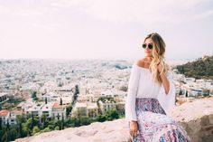 Visiting Athens, Greece with Royal Caribbean Cruises Travel Through Europe, Vacation Wear, Royal Caribbean Cruise, Athens, Lifestyle Blog, What To Wear, Greece, Places, Vacation Clothing