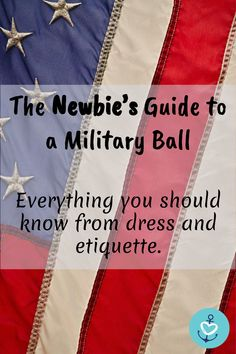 Navy Mama Do you have a military ball coming up? Whether a newbie to military life or an experienced spouse, here's a simple guide to ALL things military ball.