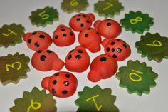 Ladybug Counting Montessori Busy Bag Preschool Activity