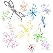 Dragonfly Illustrations and Clipart. dragonfly royalty free illustrations, drawings and graphics available to search from over 15 vect. Dragonfly Illustration, Dragonfly Drawing, Dragonfly Art, Dragonfly Tattoo, Dragonfly Clipart, Anklet Tattoos, Garter Tattoos, Rosary Tattoos, Bracelet Tattoos