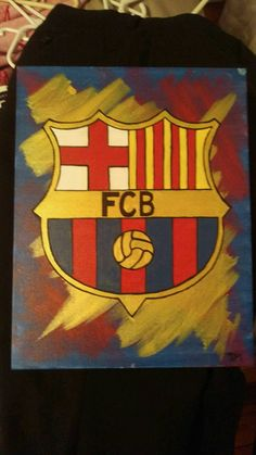 Check out this item in my Etsy shop https://www.etsy.com/listing/462914112/forca-barca