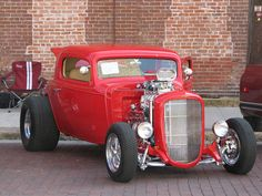 1933 Chevy 3-window coupe Hot Rod