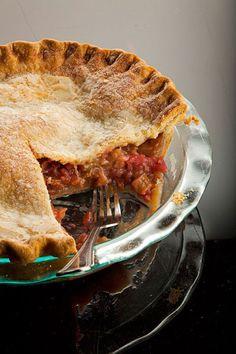 Rhubarb Pie Recipe | SAVEUR