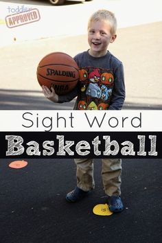 Toddler Approved!: Sight Word Basketball