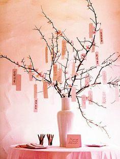 Cherry blossom wish tree-or advice tree, or recipe tree... lots of options
