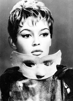 "* Brigitte Bardot in the ""Mademoiselle Striptease "" film 1956"