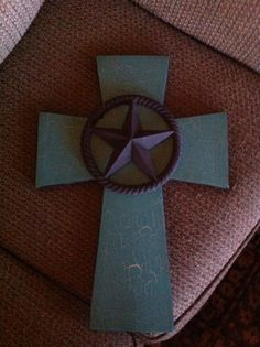 Large Wood Cross by SignsBYDebbieHess on Etsy, $28.00