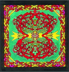 Italian Mandala Filigree Celtic Knotwork by CelticMandala on Etsy