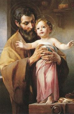 St Joseph and Jesus picture Catholic Art, Catholic Saints, Religious Art, Catholic Pictures, Jesus Pictures, Vintage Holy Cards, Christian Images, Mama Mary, Blessed Mother Mary