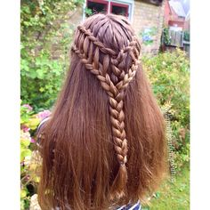 A ladder braid combo on Marie today A new tutorial is coming tomorrow so…