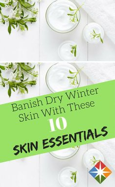 Banish dry winter workouts with these 10 skin care essentials. Keep your skin healthy so you can exercise no matter the weather.