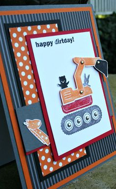 Handmade Greeting Card  Boy  Birthday