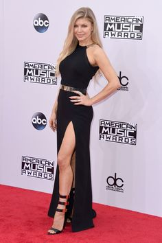 Fergie in Halston Heritage | 2014 American Music Awards...