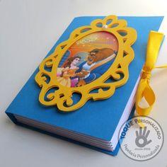 Convite livro - A Bela e a Fera