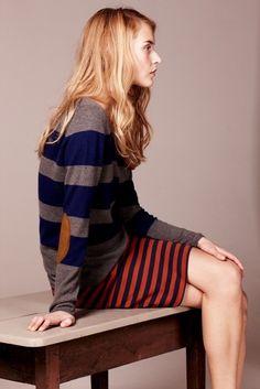 Stripes on stripes. #mixedprints