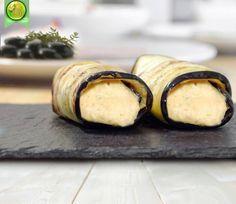 Canelones de Berengena y humus
