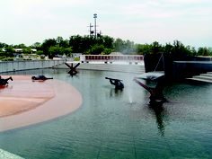 Invasion Pool At The National D Day Memorial Bedford Va D Day
