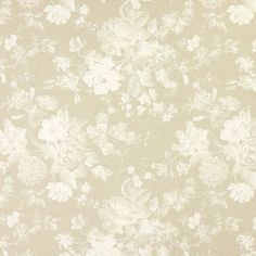 Dekorationstyg Natur – Romantiska blommor - Märkesdekorationstyger- tyg.se Panama, Tapestry, Day, Fabric, Home Decor, Women, Tela, Natural Colors, Dry Cleaning