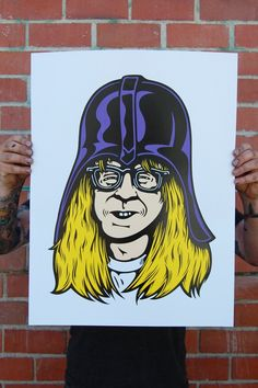 """Garth Vader"" I think I just died and went to nerd heaven"