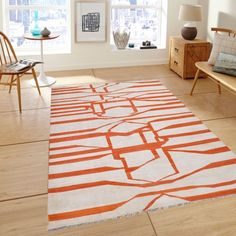 170x242 Contemporary Kilim by Design Innovations from Pakistan #MONOQI