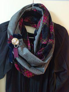 ねじれスヌードの作り方|マフラー・ショール|ファッション小物|ハンドメイドカテゴリ|アトリエ