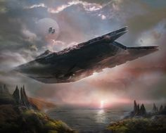 This is an artwork that I made for Star Wars- Armada, Gladiator-class Star Destroyer Expansion Pack/ FFG. Nave Star Wars, Star Wars Rpg, Star Wars Ships, Star Trek, Star Wars Concept Art, Star Wars Fan Art, Vida Animal, Spaceship Concept, Concept Ships