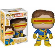 Play & Collect Presents, X-Men Classic Cyclops Pop! Vinyl Figure from Funko! Check out the other Classic X-Men figures! Check out the other Classic X-Men Figures from Funko! Stands 3 inches Collect them all! Marvel Cyclops, Marvel Comics, Funko Pop Marvel, Lego Marvel, Figurine Pop Marvel, Pop Figurine, Funko Figures, Vinyl Figures, Action Figures
