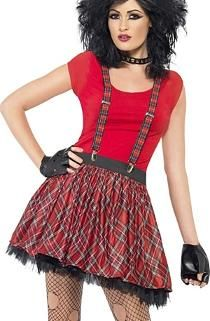 Punk outfits are all about being anti-brand. Check out some of the coolest punk outfit ideas from above and rock that punk look effortlessly. 1980s Costume, Punk Costume, Costume Dress, 1980s Fancy Dress, Fancy Dress Womens, Full Body Costumes, Cool Costumes, Halloween Costumes, Dress 15