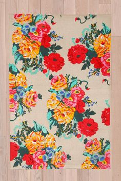 Bouquet 4x6 Rug at Urban Outfitters