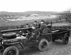 M38A1CCDN3 Jeep with M40A1 106mm Recoilless Rifle. Courtesy Ed Storey and CF Image Library.