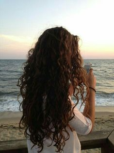 Curly Hair Tips, Long Curly Hair, Curly Hair Styles, Curly Hair Care, Pretty Hairstyles, Wig Hairstyles, Summer Hairstyles, Hair Inspo, Hair Inspiration