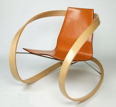 katie walker, ribbon rocking chair