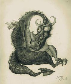 Pinzellades al món: Dracs pel món de la imaginació / Dragones por el mundo de la imaginación / Dragons by the world of imagination