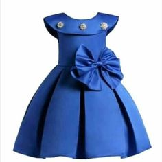 Toddler Pageant Dresses Big Bow Bridesmaid Wedding Dress For Girls is cheap, come to NewChic and buy cute flower girl dresses now! Red Flower Girl Dresses, Wedding Dresses For Girls, Little Girl Dresses, Girls Dresses, Party Dresses, Flower Girls, Dress Wedding, Bridesmaid Dress, Toddler Princess Dress