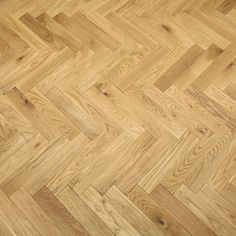 Park Avenue Herringbone Natural Oak Solid Wood Flooring - 4