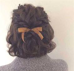 Dame Retro Einfache Dickdarm Haargummis Welle Haar Ring Pferdeschwanz Inhaber