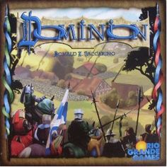 Dominion, (strategy game, card game, board game, eurogame, strategy, games, deck building game, ccg, cards, family game)