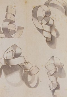 paper curl. Fun shading activity, different than the geometric shape drawings                                                                                                                                                                                 More