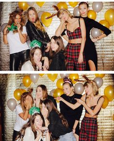 taylor swift, haim and... is that beyonce?