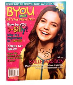 Enter to win a copy of BYOU Magazine AUTOGRAPHED by Bailee Madison here: wp.me/P2Ea1c-ag! #OUAT #GoodWitch #TheFosters #BaileeMadison #BYOUmagazine #Autograph #Magazine #BeSilly