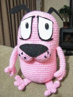 """Ganchillo """"Deditos Mágicos"""": CORAJE """"El perro cobarde"""" a crochet"""